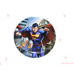 Чинийки к-т 10бр. Супермен 2-23см | PARTIBG.COM