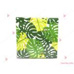 Салфетки к-т 12бр. с палмови листа | PARTIBG.COM