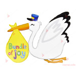 Фолиев балон Щъркел   PARTIBG.COM