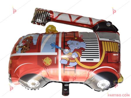 Фолиев балон Пожарна кола