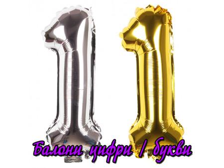 Балони цифри | букви